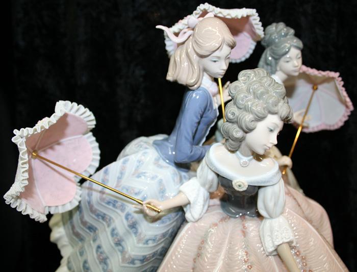 lladro figurine maidens for sale