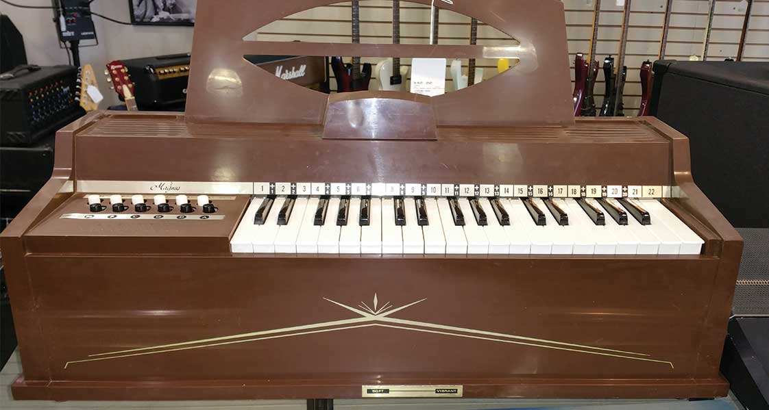 organ for sale on display